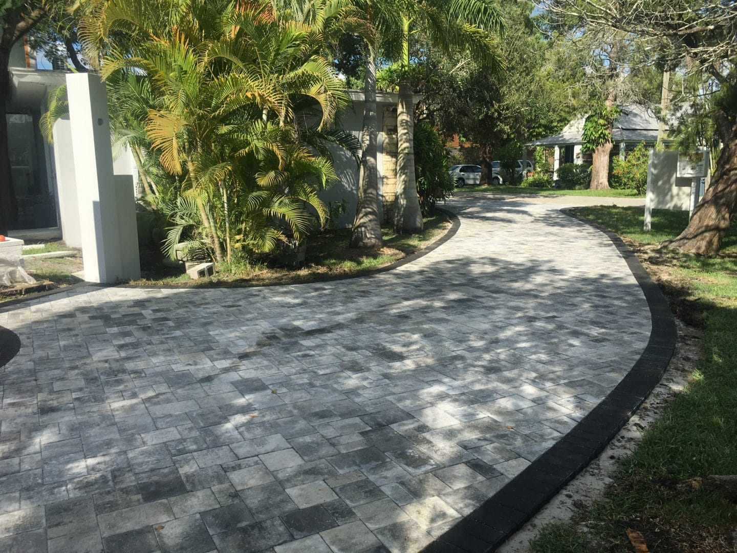 well sanded pavers