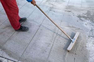 Replacing sand in pavers