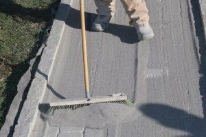 polymeric sand on paver